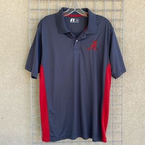 Men's Russell Athletics Activewear Golf Polo Sz L